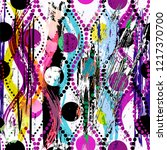 abstract pattern background ... | Shutterstock .eps vector #1217370700