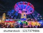 munich  germany   october 7 ...   Shutterstock . vector #1217379886