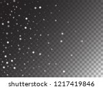 winter snowfall ice texture... | Shutterstock .eps vector #1217419846