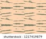 japanese kimono vector seamless ... | Shutterstock .eps vector #1217419879