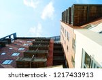 residential apartment  quayside.... | Shutterstock . vector #1217433913