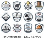 electrical service and... | Shutterstock .eps vector #1217437909