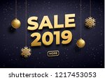 year 2019 background place for...   Shutterstock .eps vector #1217453053