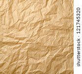 beige crumpled paper for