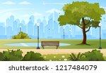 Summer City Park Panorama...