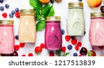 healthy and useful colorful...   Shutterstock . vector #1217513839