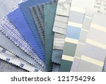 upholstery texture color samples | Shutterstock . vector #121754296