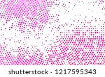 light pink vector pattern in... | Shutterstock .eps vector #1217595343