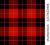 christmas and new year tartan... | Shutterstock .eps vector #1217622406