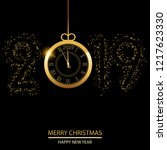 happy new year or christmas... | Shutterstock .eps vector #1217623330