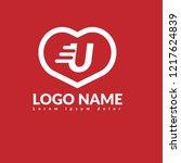 letter u logo koncept. designed ...
