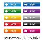next buttons | Shutterstock .eps vector #121771060