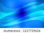 light blue vector template with ... | Shutterstock .eps vector #1217729626
