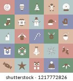 a christmas and holidays... | Shutterstock .eps vector #1217772826