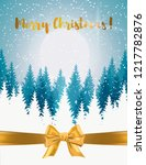 vertical merry christmas and... | Shutterstock .eps vector #1217782876