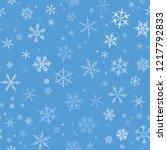 white gradient spot snow flake... | Shutterstock .eps vector #1217792833