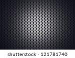 light glow on grill pattern | Shutterstock . vector #121781740