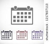 calendar iconvector icon