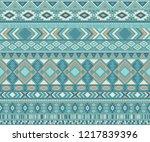 peruvian american indian... | Shutterstock .eps vector #1217839396