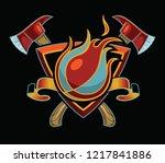 Flaming Basketball T Shirt...
