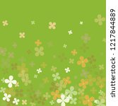 abstract summer colorful green... | Shutterstock .eps vector #1217844889