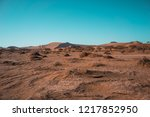 namib desert near sossusvlei... | Shutterstock . vector #1217852950