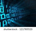 abstract 3d illustration of... | Shutterstock . vector #121785523