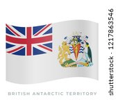 british antarctic territory... | Shutterstock .eps vector #1217863546