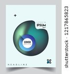 modern abstract covers template.... | Shutterstock .eps vector #1217865823