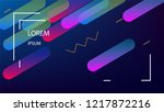 colorful background with simple ... | Shutterstock .eps vector #1217872216