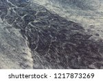 sparkling dark mineral ilmenite ... | Shutterstock . vector #1217873269