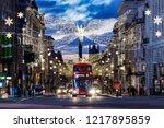 london  england   december 2017 ... | Shutterstock . vector #1217895859