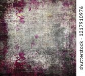 grunge wall  highly detailed... | Shutterstock . vector #1217910976