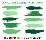 minimalistic label brush stroke ... | Shutterstock .eps vector #1217921059