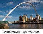 newcastle upon tyne. united... | Shutterstock . vector #1217923936