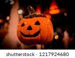 nightlife of halloween | Shutterstock . vector #1217924680