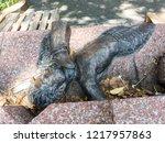 thammasat university  tha... | Shutterstock . vector #1217957863