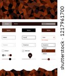 dark red vector material design ...
