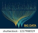 big data statistical analysis... | Shutterstock .eps vector #1217988529