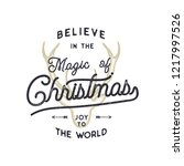 christmas typography quote...   Shutterstock .eps vector #1217997526