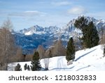 Skiing On The High Peaks