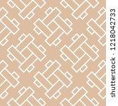 beige and white geometric... | Shutterstock .eps vector #1218042733
