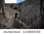 the fort saint elme above... | Shutterstock . vector #1218045250