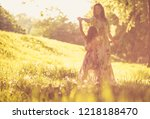my little princes. mother and... | Shutterstock . vector #1218188470