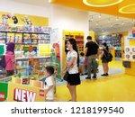 georgetown penang malaysia.... | Shutterstock . vector #1218199540