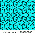 seamless modern vector... | Shutterstock .eps vector #1218300280