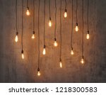 Edison Light Bulb Background....