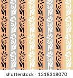 seamless strip pattern   Shutterstock .eps vector #1218318070