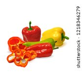 fresh  nutritious  tasty... | Shutterstock .eps vector #1218346279