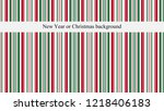 new year or christmas... | Shutterstock .eps vector #1218406183